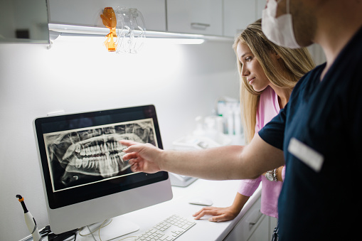 Digital X-Rays at Drs. Scheetz & Rekos: Oral & Maxillofacial Surgeons of Ohio